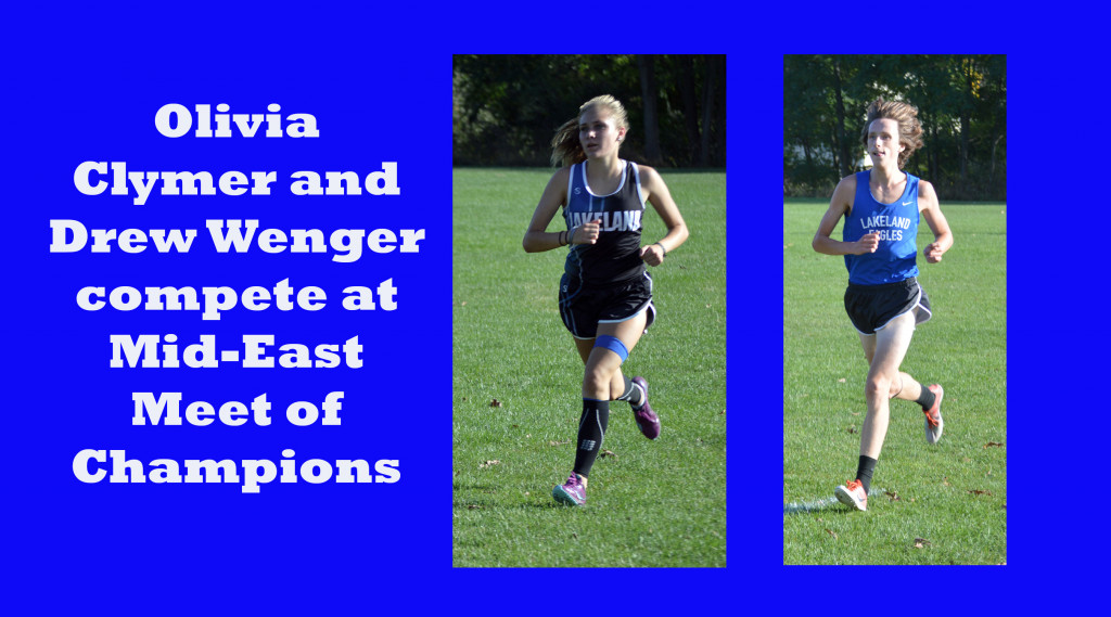 Drew Wenger and Olivia Clymer represent Michigan at Mid-East Meet of Champions