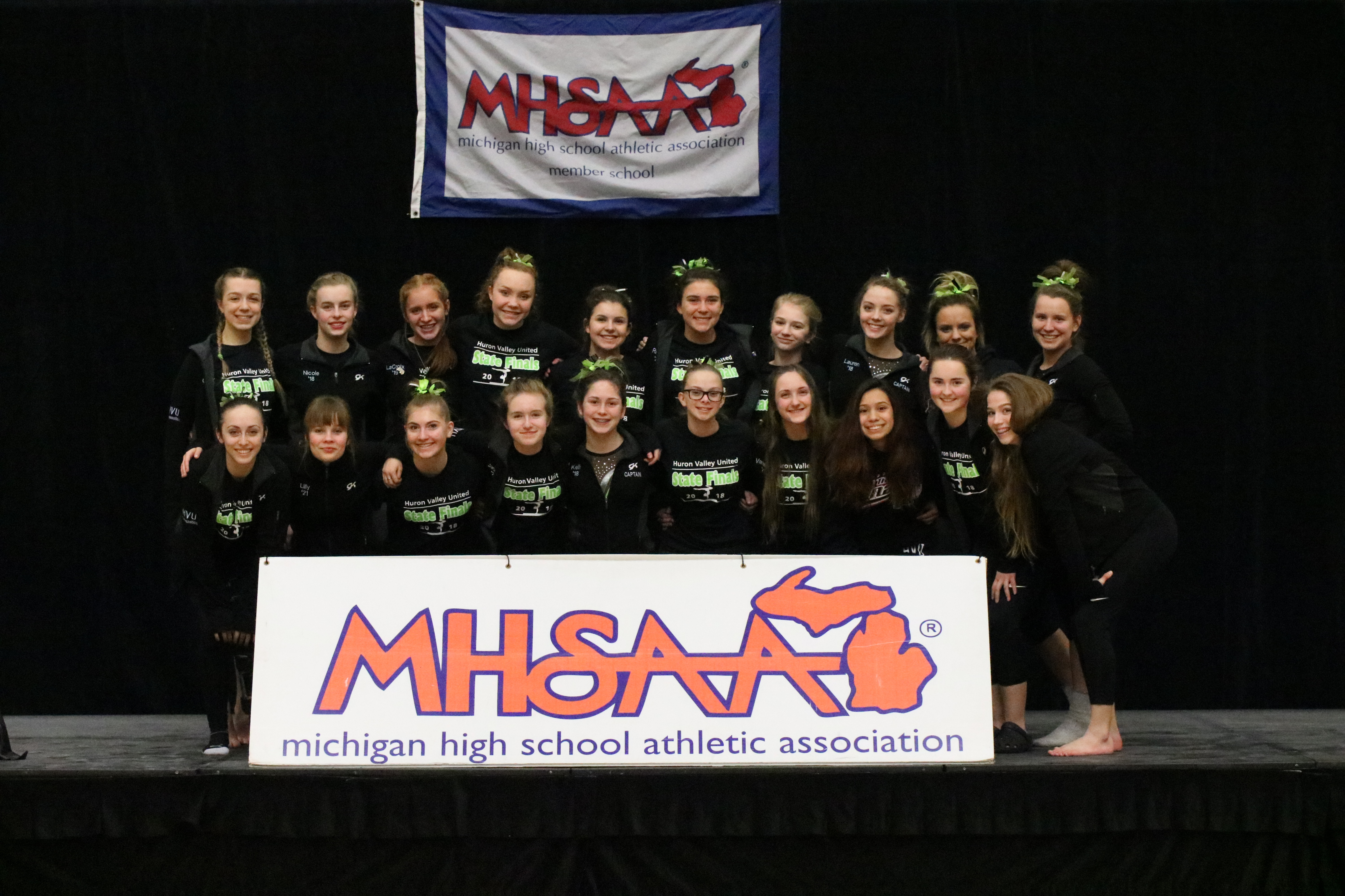 Gymnastics team finishes 8th at the State Finals