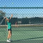 Sophomore Carly Billman Hopes to Achieve Great Things with Tennis Team this Season