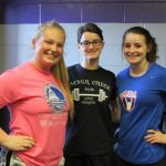 Women's Weightlifting Team Undefeated