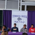 2017 National Signing Day at Timber Creek