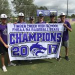 TC Baseball Show Off Their New State Championship Banner