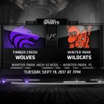 Girls Volleyball Travel to Winter Park Tonight for Big District Game
