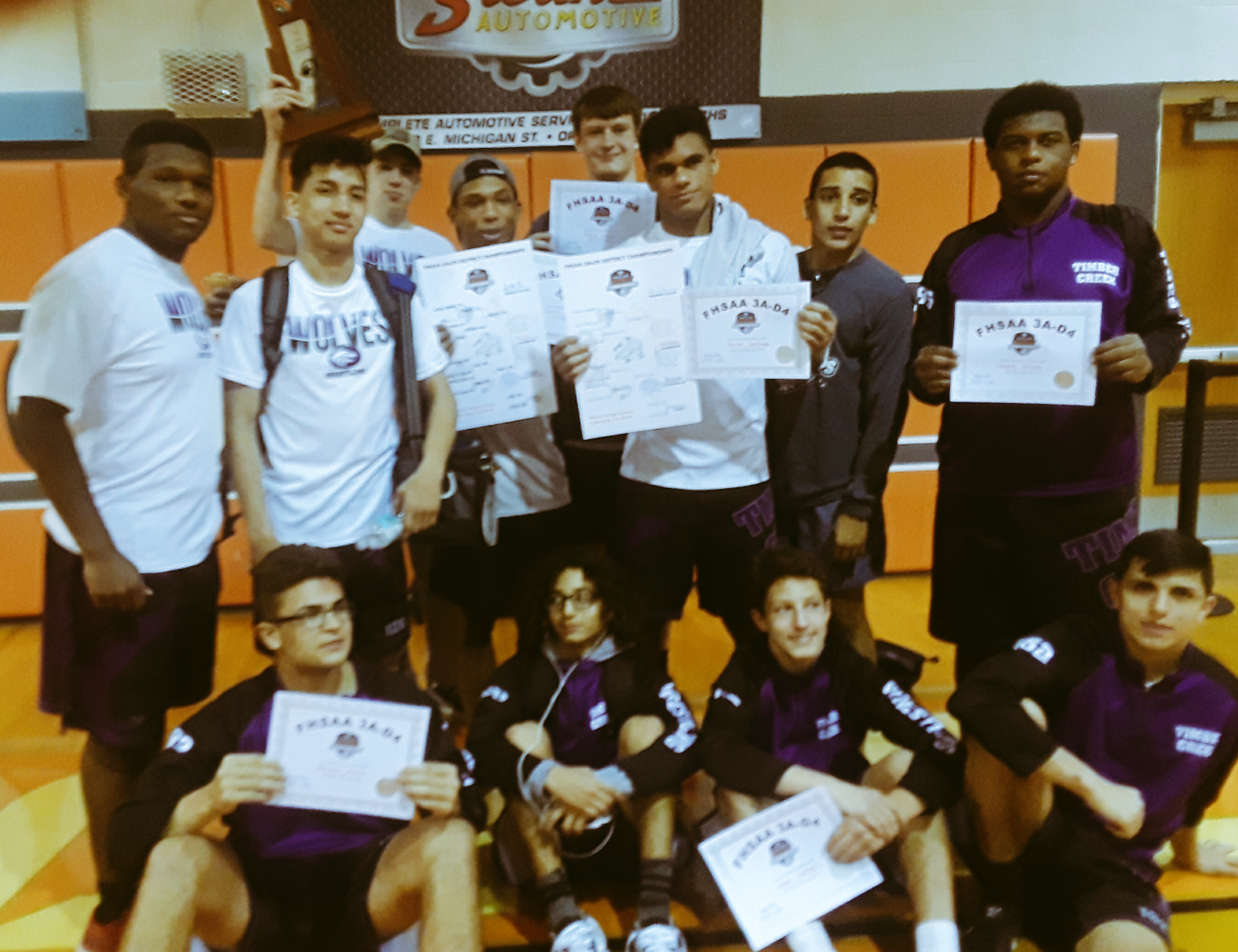 TC Boys Wrestling Places 2nd in District Tournament