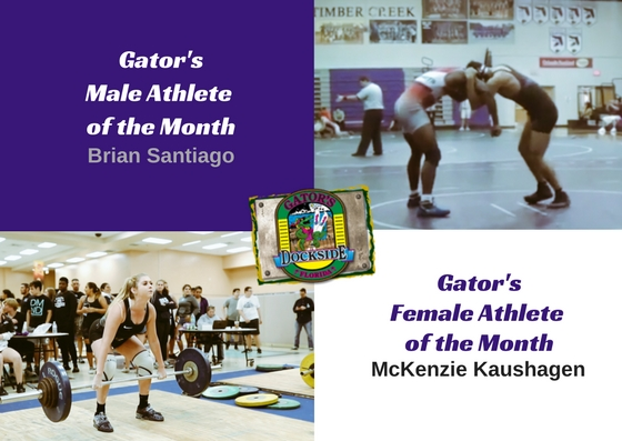 January Spotlight: Gator's Student Athletes of the Month
