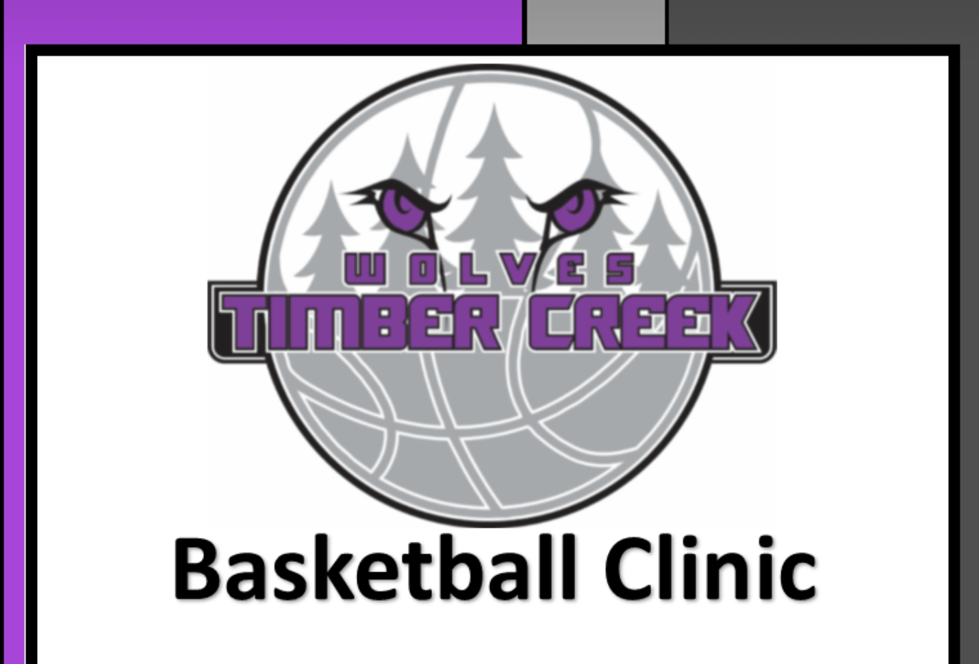 Mark your Calendars for our TC Youth Basketball Clinic