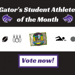 September Spotlight: Vote Now for our Gator's Student Athlete of the Month