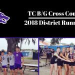 TC B/G Cross Country | 2018 4A District Runner-Ups