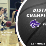 TC Girls Basketball | District Championship vs Colonial