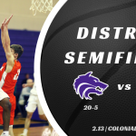 TC Boys Basketball | District Semifinals vs University Cougars