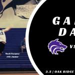 TC Boys Volleyball | GAMEDAY vs Oak Ridge Pioneers