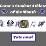 February Spotlight | Vote for our Gator's Student Athlete of the Month