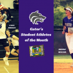 February Spotlight | Gator's Student Athletes of the Month