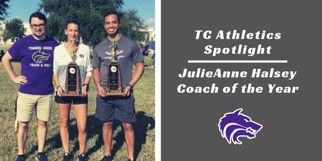 TC Athletics Spotlight   JulieAnne Halsey, Coach of the Year
