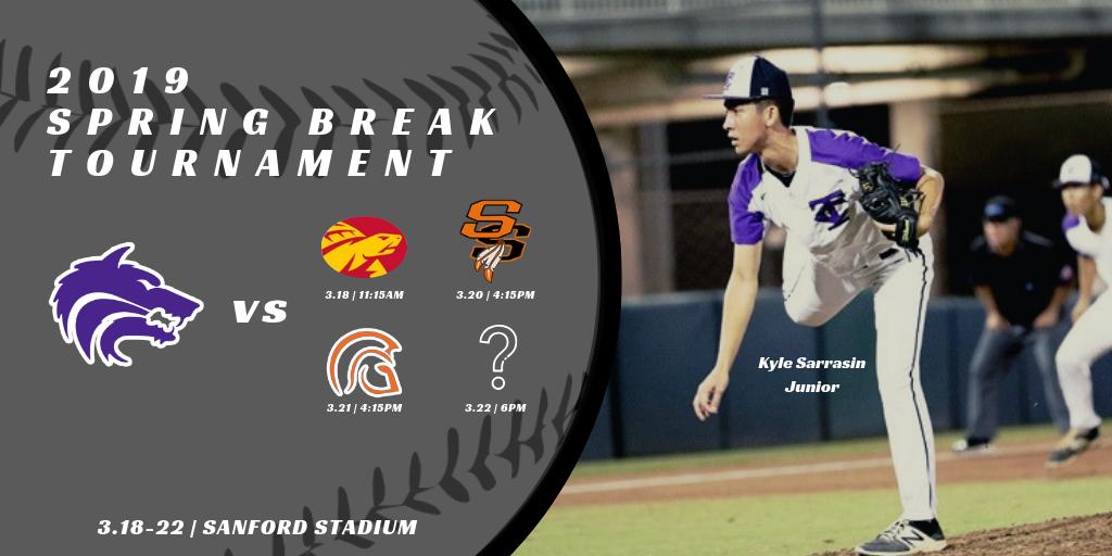 TC Baseball   2019 Spring Break Tournament