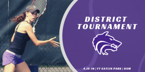 District Tournament Tennis