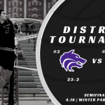 District Tournament Volleyball - Wolves vs Wildcats