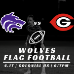 GAMEDAY Flag Football vs Colonial
