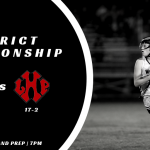 Girls Lax District Championship vs Lake Highland