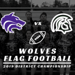 Flag Football District Championship vs Evans
