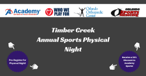 TCHS Sports Physical Night