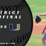 Baseball District Semifinals vs University