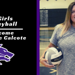 Girls Volleyball Welcome Julianne Calcote