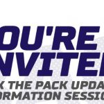 Pack the Back info session