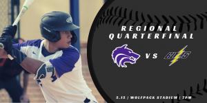 Baseball Regional Quarterfinal vs Ridge