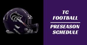 TC Football Preseason Schedule