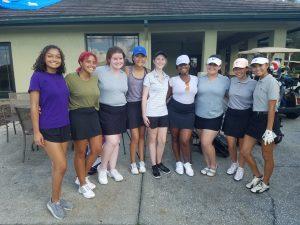TC Girls Varsity Golf pre-season