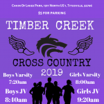 Cross Country heads to Titusville!