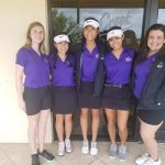 Girls Varsity Golf finishes 4th place at Metro East Tournament