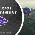 Girls Golf District Tournament
