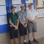 Boys Varsity Golf finishes 5th in District Tournament