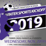 Winter Sports Kickoff 2019