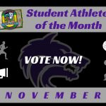 November Spotlight | Vote Now for our Gators Student Athlete of the Month!