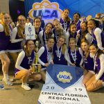 JV Cheer 1st at UCA Regionals