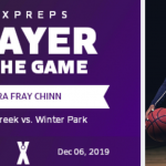 MaxPreps player of the game - Zora Fray-Chinn
