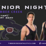 Boys Wrestling Senior Night