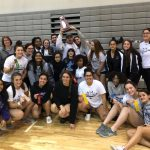 Girls Weightlifting District Runnerup