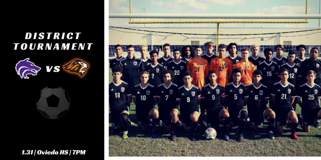 Boys Soccer | 2020 District Tournament Schedule