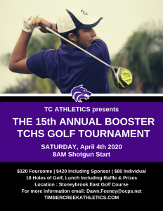 15th Annual Booster Golf