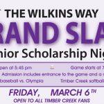 Baseball/Softball   Grand Slam and Gators Night