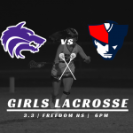 Girls Lax vs Freedom