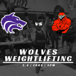 Boys Weightlifting vs ER