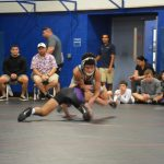 Wrestling at Ron Peters