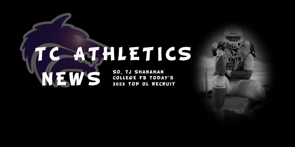TC Athletics News | So, @TShanahan66 is @CollegeFBToday 2023 Top O-Line Recruit