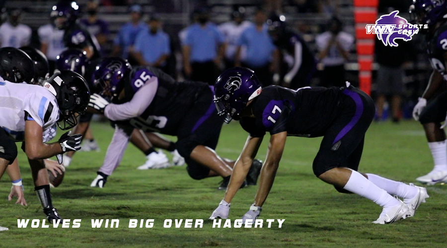 Varsity Football | Wolves win big over Hagerty