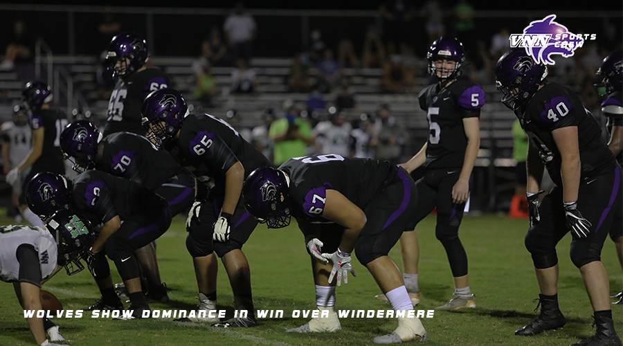 Varsity Football | Wolves show dominance in win over Windermere